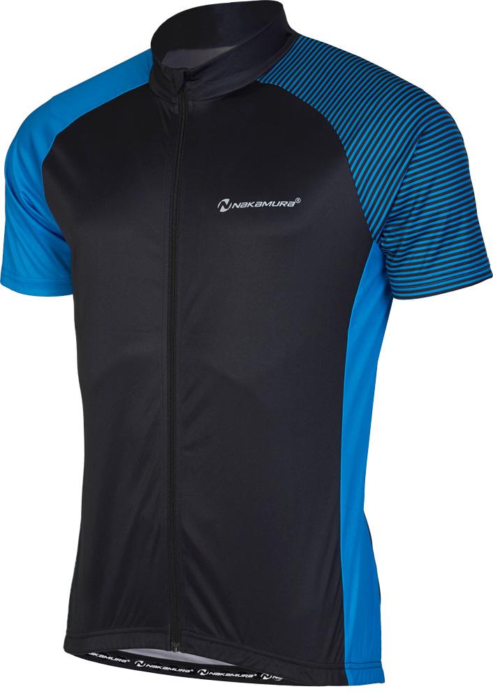 Nakamura IZI UX, muška majica za biciklizam, plava