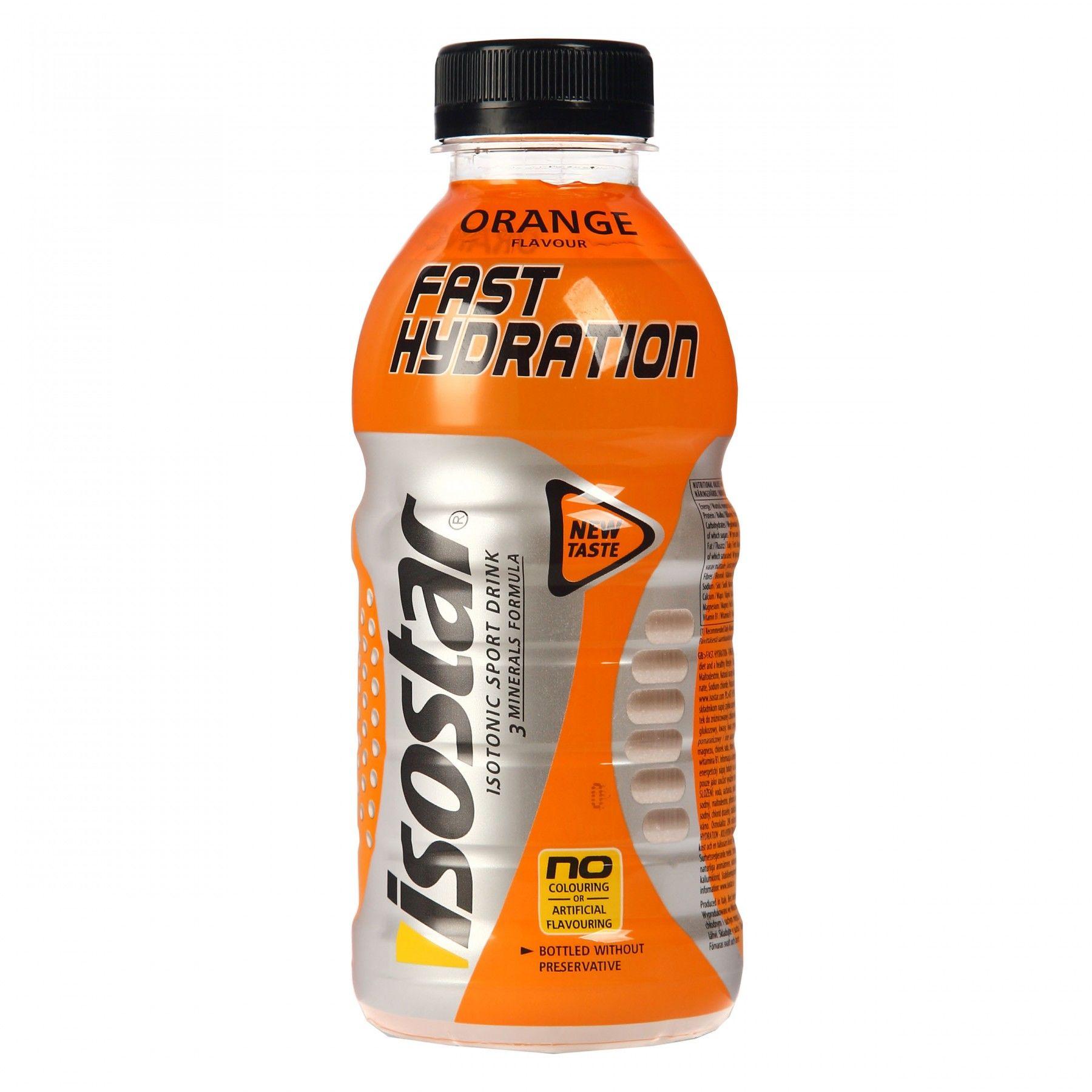 Isostar FAST HYDRATION ORANGE 0,5L, sportska prehrana, multikolor