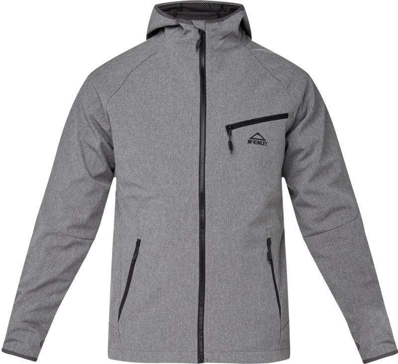 McKinley NEVIO UX, muška jakna za planinarenje, crna