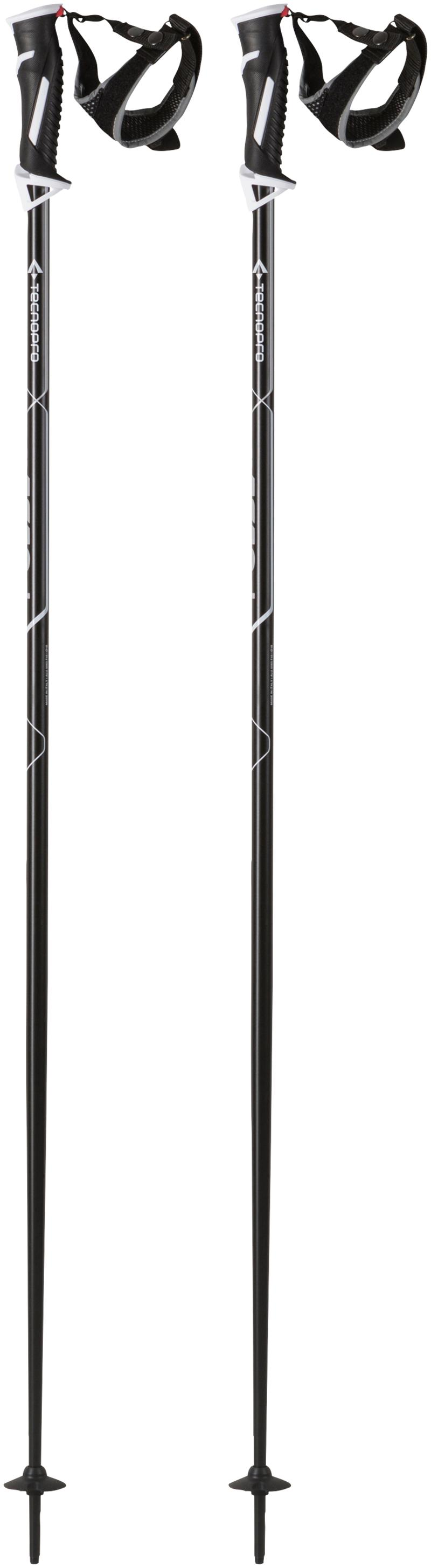 Tecnopro PULSE CS, skijaški štapovi, crna