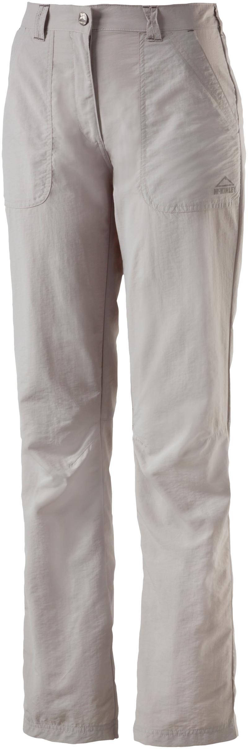 McKinley SHALIMA III WMS, ženske planinarske hlače, siva