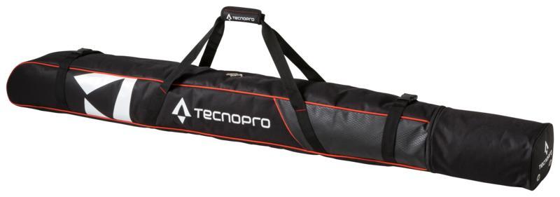 Tecnopro SKI COVER CARVING, torba za skije 1par, crna