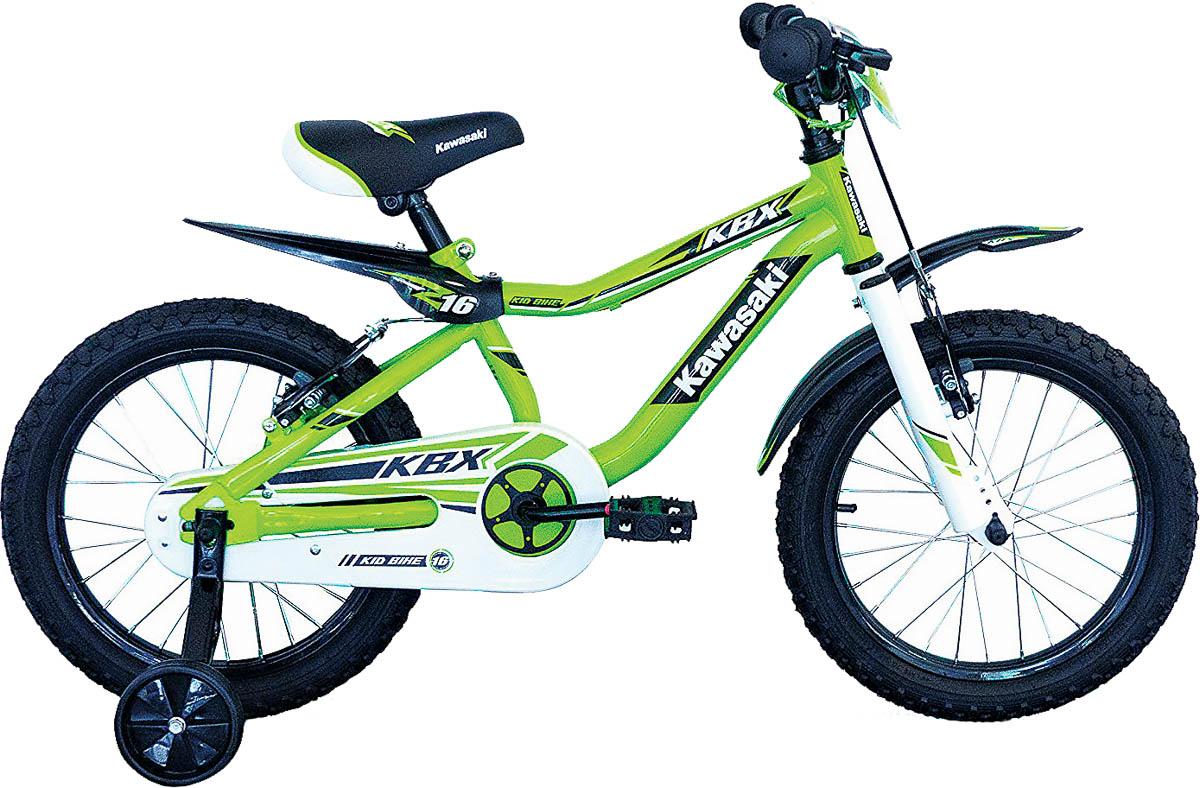 Kawasaki KBX 16, dječiji mtb bicikl, zelena