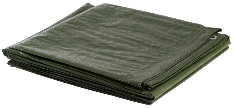 McKinley TARP 3X4 METERS, podloga za šator, zelena
