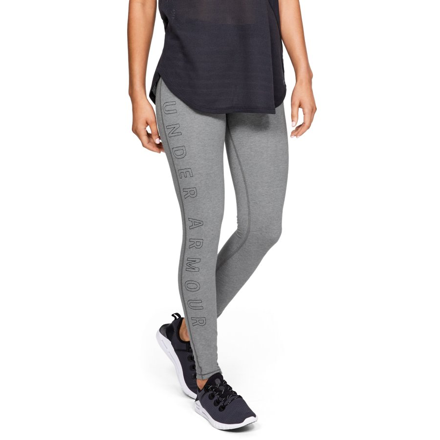 Under Armour UA FAVORITE LEGGING WM AR, ženske helanke za fitnes, siva