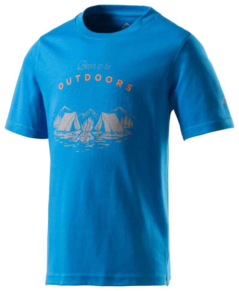 McKinley ZIYA JRS, dječija majica za planinarenje, plava